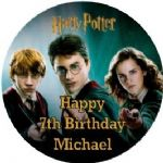 Personalised Edible Harry Potter Cake Topper